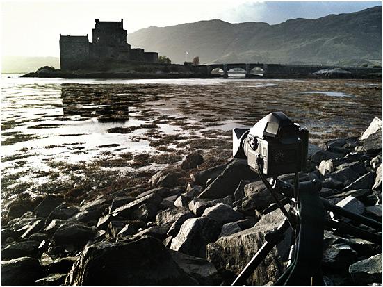 Photographing Eilean Donan, Highlands of Scotland   Copyright - Richard Flint Photography