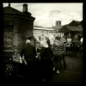 Fakenham market -  -featured in the 2011 photo book sea sky sand and street