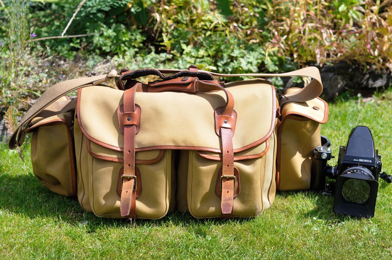 billingham bag with camera